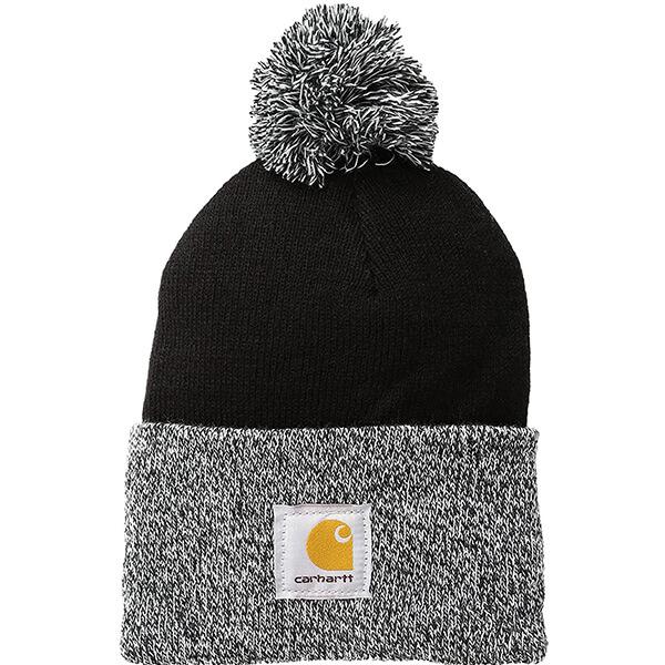 Carhartt Womens Beanie Hat with Pom Pom