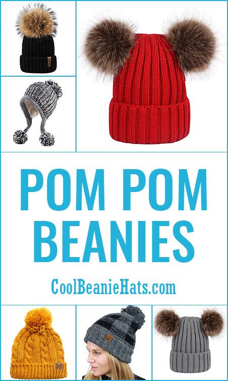Pom-Pom-Beanies
