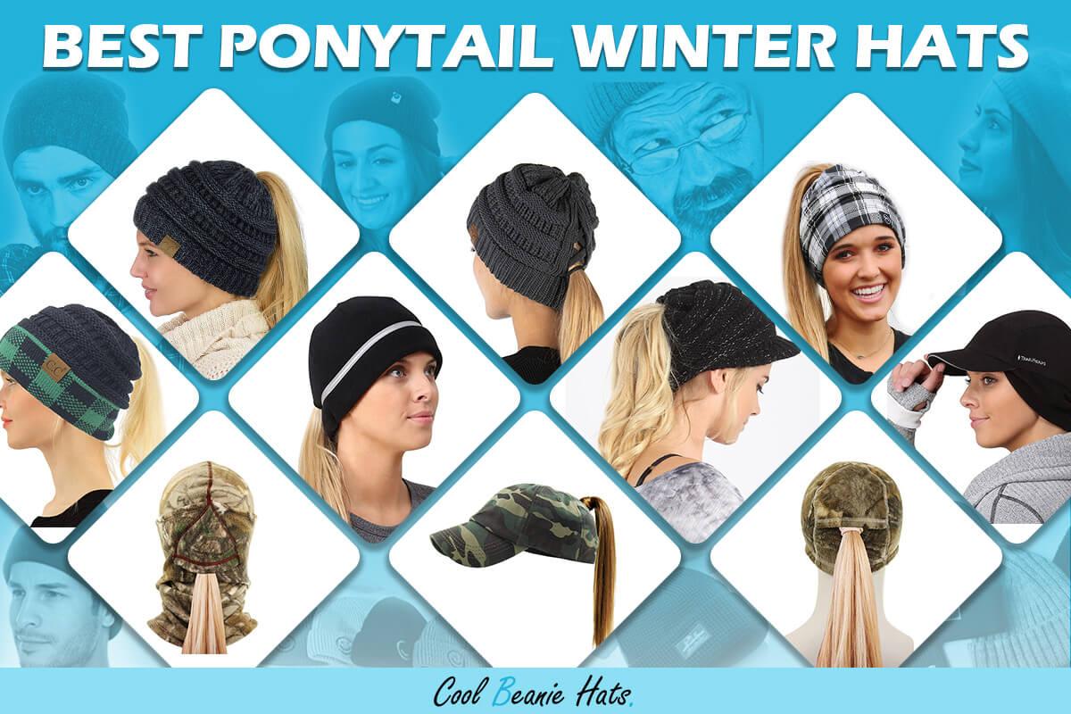 best ponytail winter hats