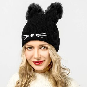 Cat Ears Cute Beanie Hat