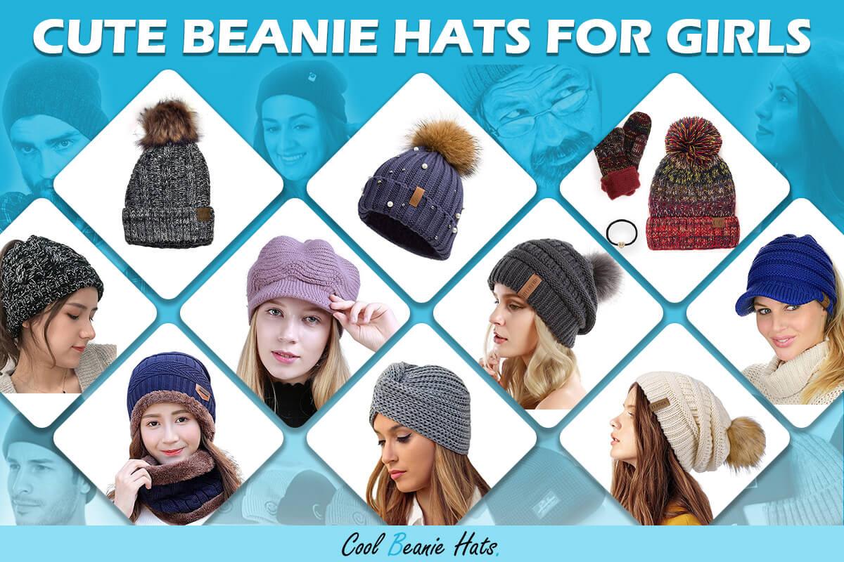 cute beanie hats for girls