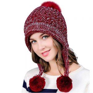 Ear Flaps, Dual LayeredWinter Thick Beanie Hat