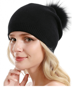 Solid Cashmere Ski Hats