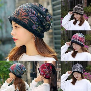 Turban Scarf Cotton Beanie Hat
