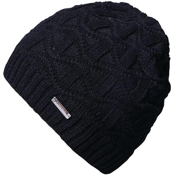 Warm Plain Winter Hat for Men