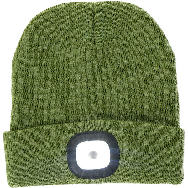 Rechargeable LED Beanie Hat