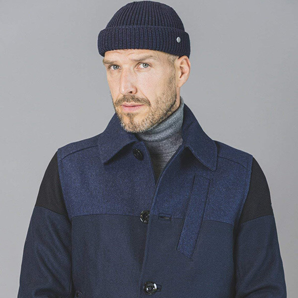 Fold Down Fisherman's Beanie for Cold Winter