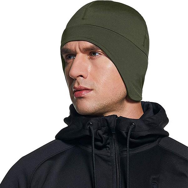 Thermal Fleece Lined Skull Cap for Men and Women