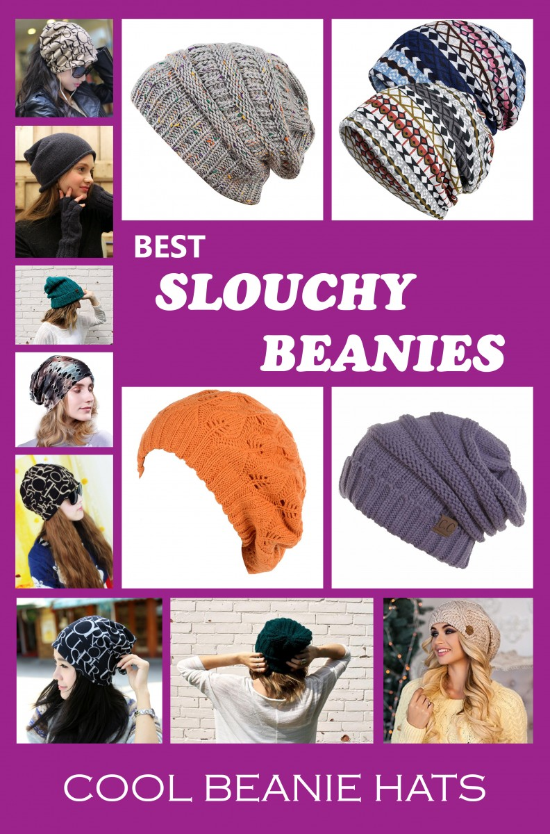 Best slouchy beanies for women, for girls