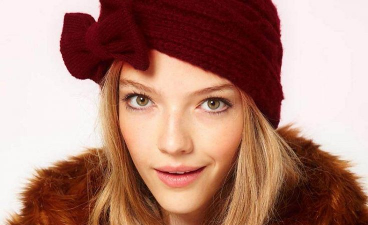 Knot-front Beanie
