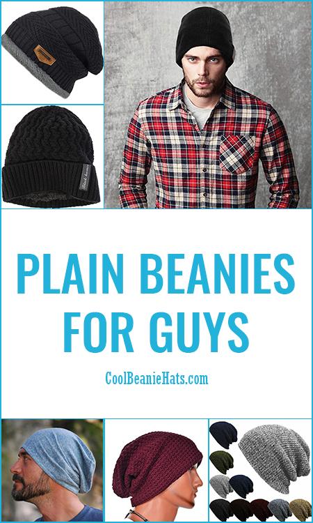Plain Beanies For Guys