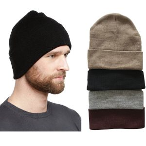 Beanies for an all boy family