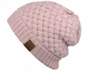 FANCY AND FEMININE | Basket Weave Beanie