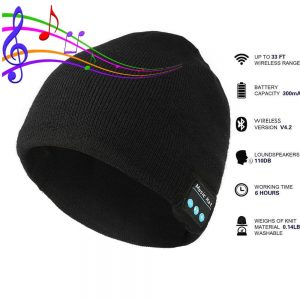 FREE FROM THE TANGLE OF HEADPHONES | BLUETOOTH BEANIE
