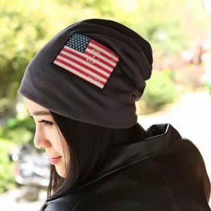 b3af75b6ab9fb1 OMECHY Unisex Slouchy Beanie Hats Winter Warm Knit Skull Fleece Ski ...