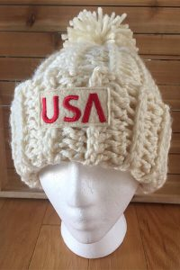 HOMEMADE FOR THE HOME TEAM | OLYMPIC 2020 | USA TEAM BEANIES