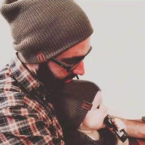 MATCHING BEANIES FOR DAD AND BABY   BEANIES FOR FAMILY