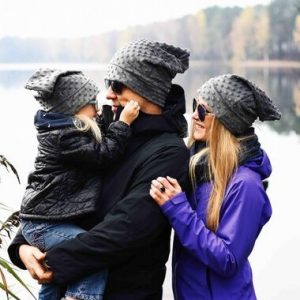 Matching beanies for long distance families