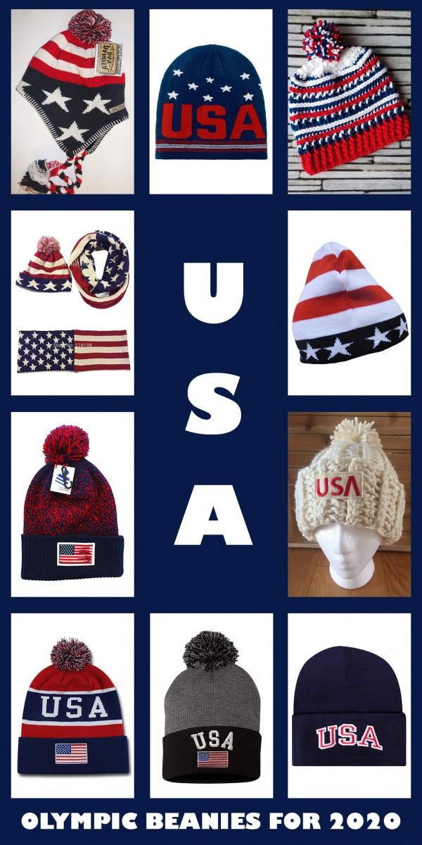 USA OLYMPIC BEANIES