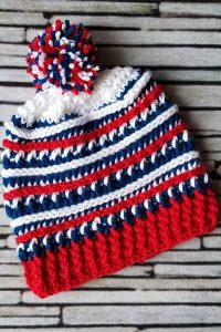 PATTERNED PATRIOTISM | OLYMPIC 2020 | USA TEAM BEANIES
