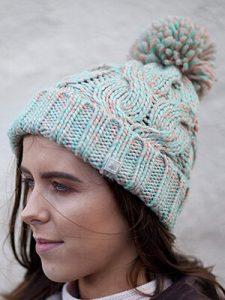 POM-POM POISE - IRISH WOOL HATS FOR WOMEN