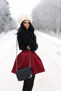 The 'dress –down-the dress' version How To Wear A Beanie Like A Style Expert: For Women