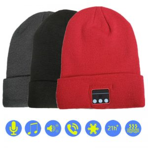 TWO FREE HANDS ARE BETTER THAN ONE | BLUETOOTH BEANIE
