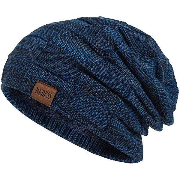 Knit Fleece-lined Winter Sustainable Beanie