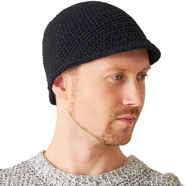 CHARM Men's Kufi Beanie Hat for Sensitive Skin