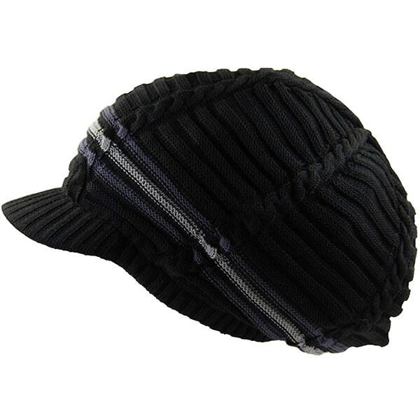 Cotton Rasta Slouchy Beanie Hat