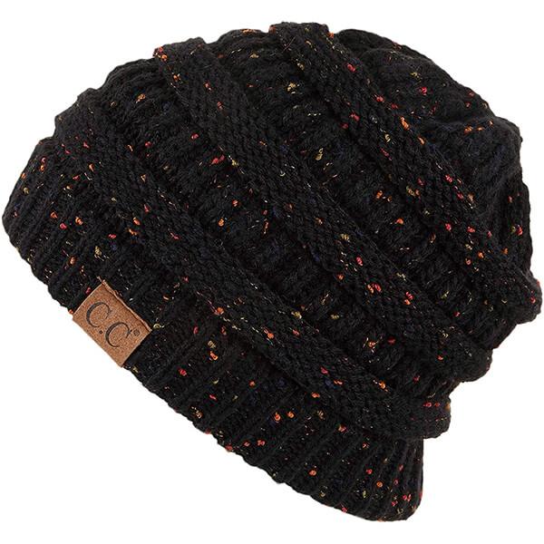 Flecked Knit C.C Beanie Hats