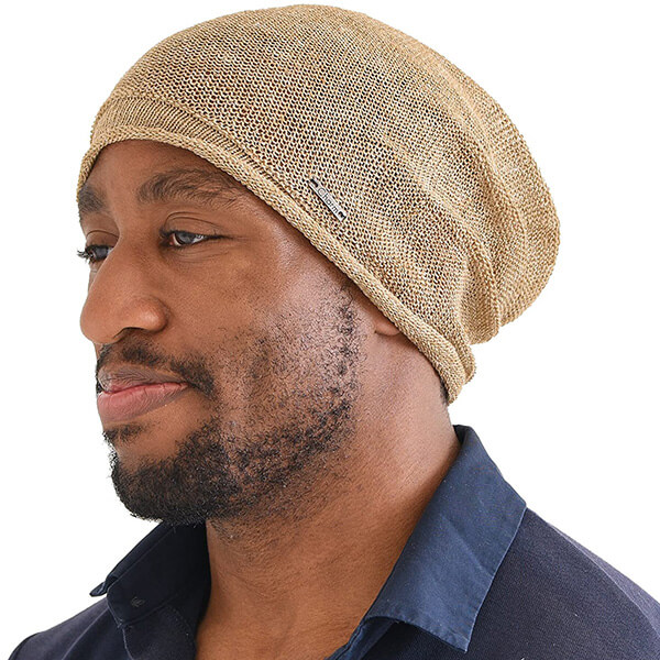 Organic Cotton Close-fitting Ethical Beanie