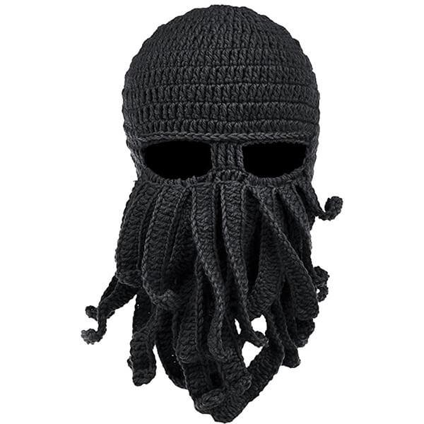 Octopus Beard Beanie Hat