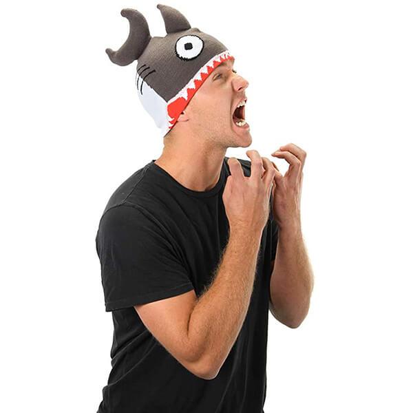 Funny Shark Knit Beanie Hat