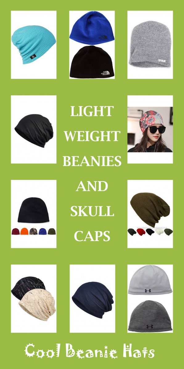 LIGHTWEIGHT BEANIES AND SKULLCAPS