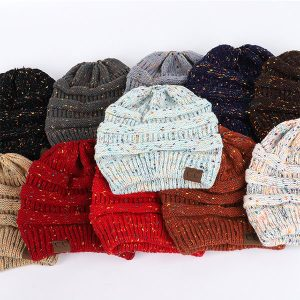 CONFETTI KNIT | Cool CC Beanie hats for Women
