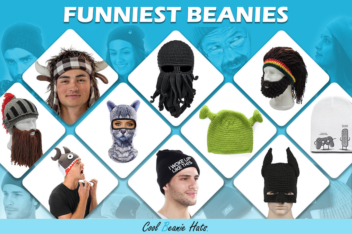 funniest beanies for girls and boys