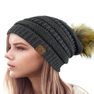 MULTIPLE COLORS FAUX FUR | Cool CC Beanie hats for Women