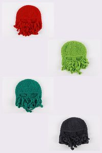 OSTENTATIOUS OCTOPUS | FUNNY BEANIES FOR GUYS