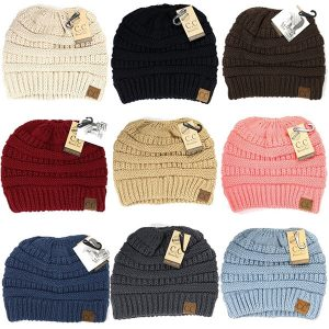 PONYTAIL ROOM | Cool CC Beanie hats for Women