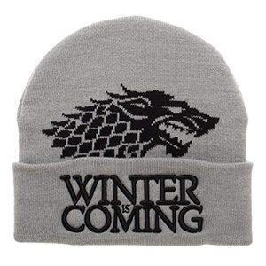 Game of Thrones Winter is Coming Winter Beanie Hat