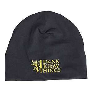 "Game of Thrones ""I Drink and I know things"" Beanie"