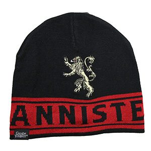 Game of Thrones Lannister Double Logo Beanie