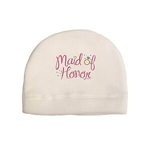 TooLoud Bride Design - Diamond Adult Fleece Beanie Cap Hat