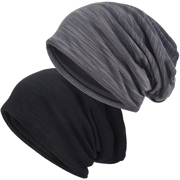 Slouchy Thin Lines Exercise Beanie