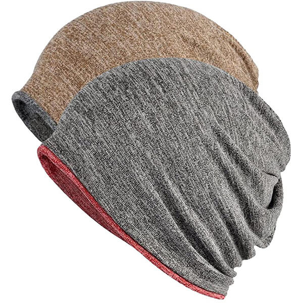 Slouchy Reversible Exercise Beanie