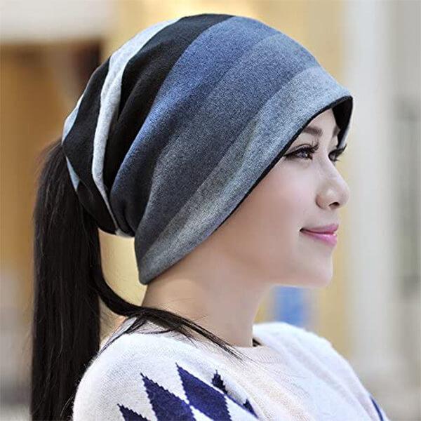Slouchy Skullcap Beanie Hat for Men And Women