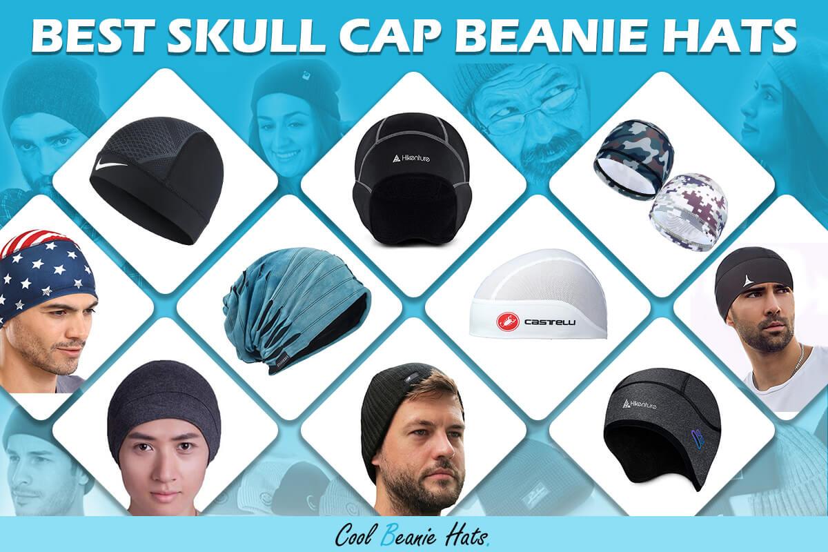 skull cap beanie hats