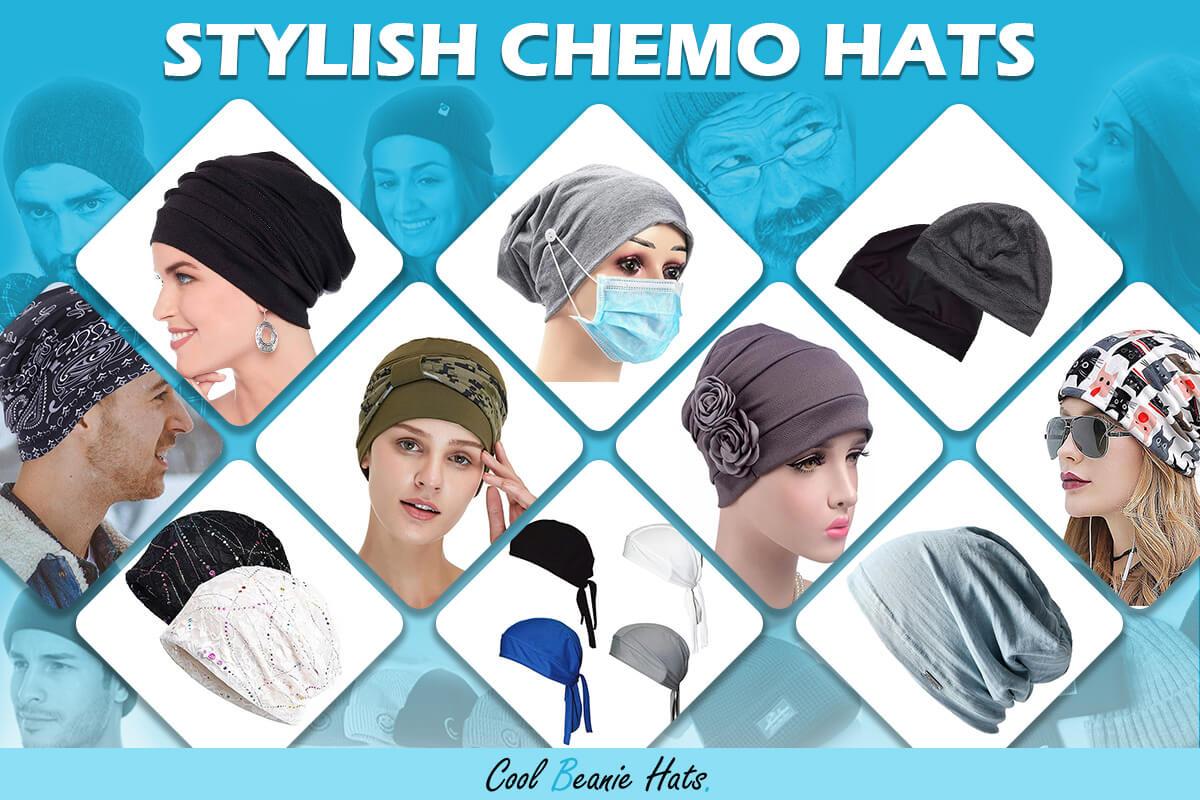 stylish chemo hats