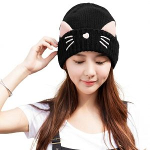 Pussy Cat Ear Beanie